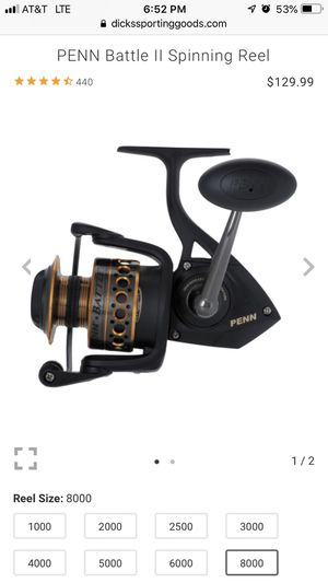 Penn battle ll spinning reel 8000 series .. for Sale in Lake Forest, CA
