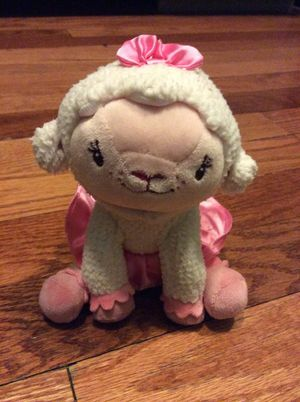 Disney Parks Lambie Doc McStuffins Lamb Stuffed Animal Plush Stuffie Christmas Kids Toy for Sale in Las Vegas, NV