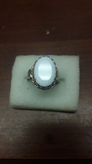 Art Deco sterling gold plated ring for Sale in Madison, VA