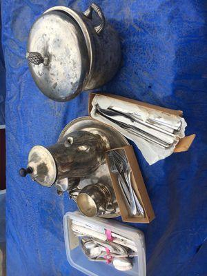 vintage silverware for Sale in Los Angeles, CA