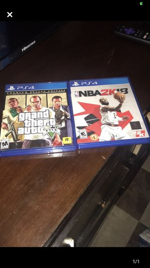 Ps4 games for Sale in Rochester, NY