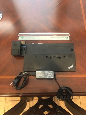 Lenovo ThinkPad docking station and power supply for Sale in Euless, TX
