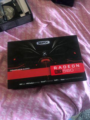 Radeon rx560 4gb graphics card GPU for Sale in Oxnard, CA