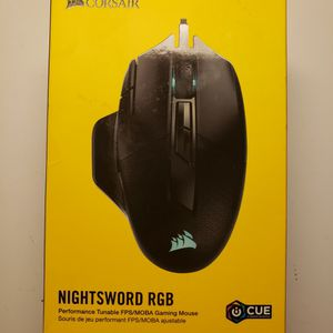 Corsair Nightsword GAMING MOUSE for Sale in Mahwah, NJ