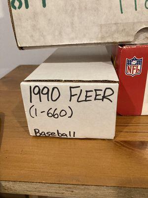 Fleer baseball 1990 baseball set one box for Sale in Philadelphia, PA