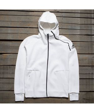 Men's White XL ADIDAS Z.N.E. FAST RELEASE HOODIE for Sale in Los Angeles, CA