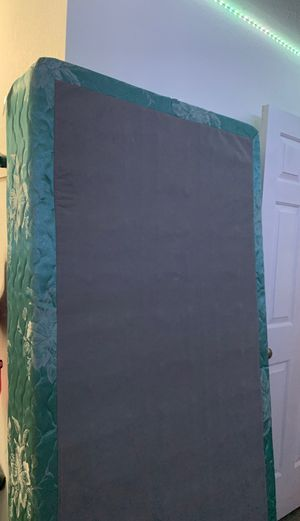 Free box spring and twin size bed frame clean home, non smoking no pets for Sale in San Jose, CA