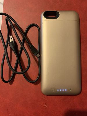 iPhone 6plus Mophie battery case for Sale in Dearborn, MI