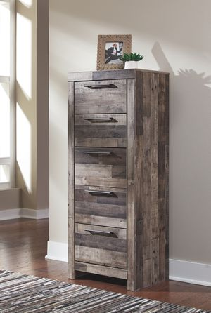 Ashley Furniture Multi Gray Lingerie Chest for Sale in Fountain Valley, CA