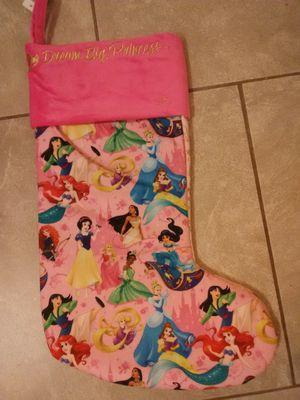 Disney princess Christmas stocking for Sale in Norwalk, CA