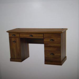 Oak Computer Desk w/Filing Drawers for Sale in Dallas, TX