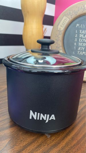 Ninja Mini Slow Cooker Crock Pot Personal Ceramic Warmer 2 Cup for Sale in Homestead, FL