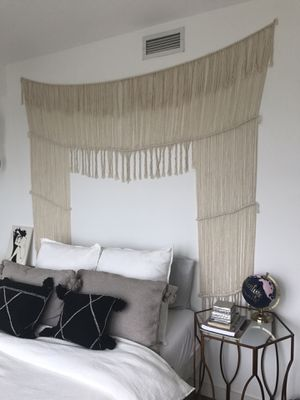 Macrame window/wall covering decor for Sale in San Diego, CA