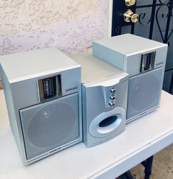 HOME SPEAKER SYSTEMS TEMPERED SUBWOOFER KS250S nexgen ACOUSTIC TECHNOLOGY AND 2 DYNAMIC SOUND SPEAKERS 8Ohms SOUND DESIGN 96dB:W- EXCELLENT SOUNDS for Sale in Anaheim,  CA