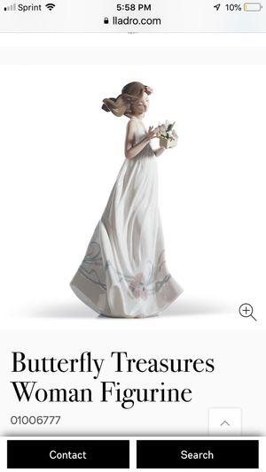 Lladro figurine woman for Sale in Chino Hills, CA