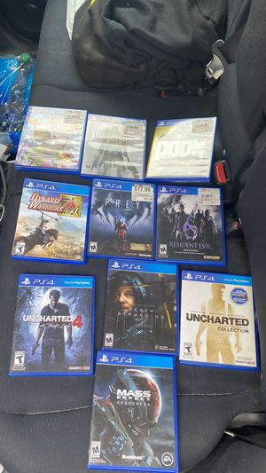 Ps4 games for Sale in Union City, NJ