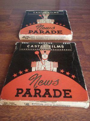 Castle Films News Parade Vintage16mm Movie for Sale in Montclair, CA