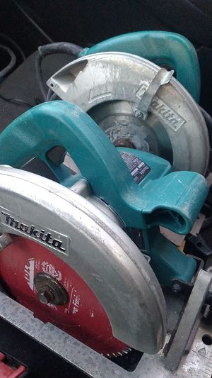 2 makita circular saws model 5007f for Sale in Pooler, GA