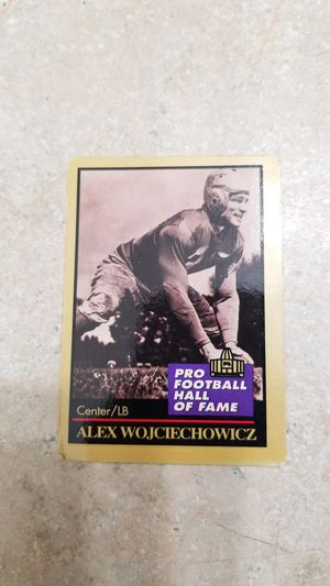 NFL Enor1991 ALEX WOJCIECHOWWICZ PRO HALL OF FAME for Sale in Paramount, CA