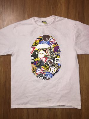 Bape Mutiple Logo T Shirt for Sale in Alexandria, VA