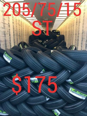 205 75 15¡¡¡¡ ALL 4 NEW SET OF TIRES !!!! for Sale in Phoenix, AZ