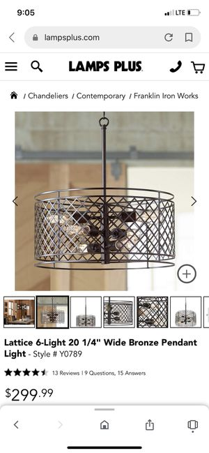 New chandelier in box for Sale in Mansfield, TX