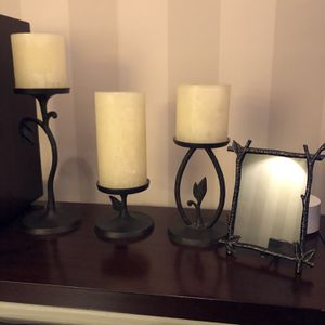 Pottery Barn Collection - Lamp, Candle Holders & Picture Frame for Sale in Inglewood, CA