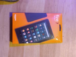 Amazon Fire 7 TAblet w/alexa for Sale in Evergreen, CO