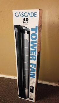 $20 each 40 inches spinning cascade fan open box tower fan oscillation timer quiet for Sale in Los Angeles, CA