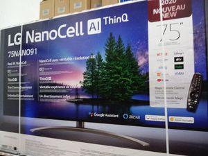 """75"""" lg 4k smart nano cell led tv for Sale in Santa Ana, CA"""