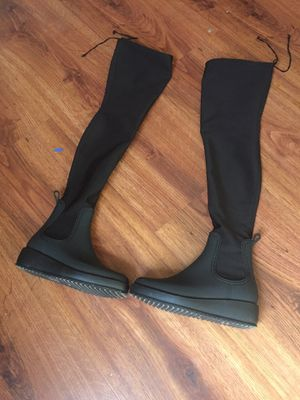 Jeffery Campbell Thigh High Rain Boots for Sale in Cleveland, OH