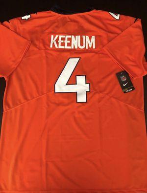 Case Keenum Denver Broncos Jersey | New Men's XL for Sale in Sacramento, CA
