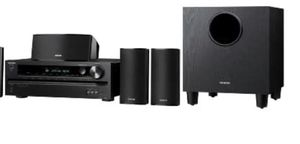 Home Theater Receiver/Speaker Package,black for Sale in Miami Beach, FL