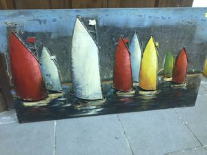Metal sailboat art for Sale in Bensalem, PA