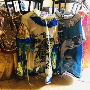 4 Complete Mardi Gras Costumes . Custom Made And Sold All Or Individual . for Sale in Albuquerque, NM