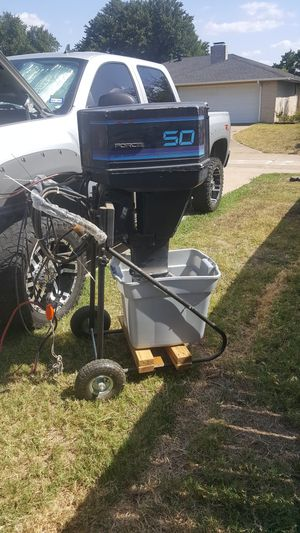 1987 50 horsepower outboard motor for Sale in DeSoto, TX