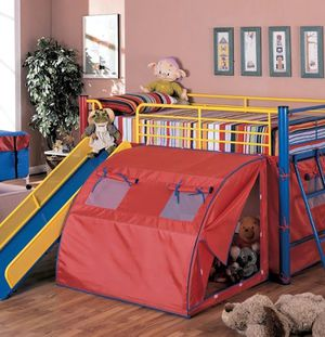 Coaster Bunk Bed with Slide Colorful for Sale in Reed City, MI