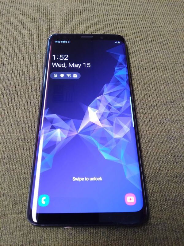 Unlocked samsung Galaxy s9 plus