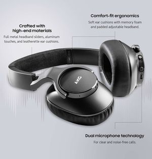 NEW Samsung AKG N700NC M2 Wireless Headphones GP-N700HAHCIWA Foldable Wireless Headphones, Active Noise Cancelling (US Version) for Sale in Santa Ana, CA