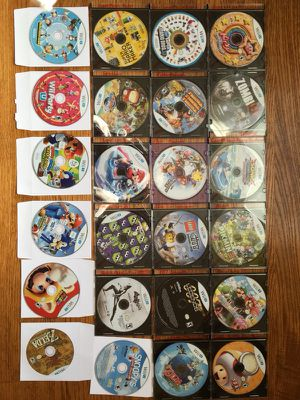 Nintendo Wii U games disc only great condition for Sale in Toms River, NJ