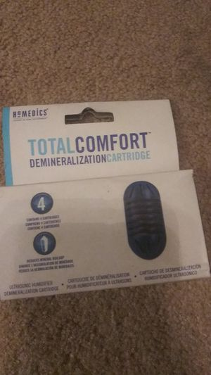 BRAND NEW HOMEDICS ULTRASONIC HUMIDIFIER DEMINERALIZATION CARTRIDGE 4-PACK for Sale in Boiling Springs, SC