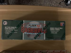 1992 Fleer Baseball Cards.......Sealed Set. for Sale in Warren, MI