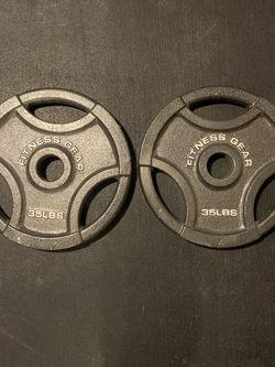 Olympic Weights 35 Lb Pair for Sale in Baltimore,  MD