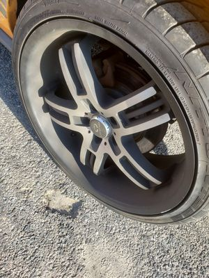 Rims 18 and 20 on back for Sale in Hyattsville, MD