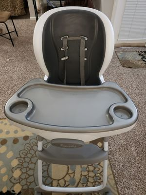 Ingenuity smartclean Trio 3 in 1 high chair for Sale in Naperville, IL