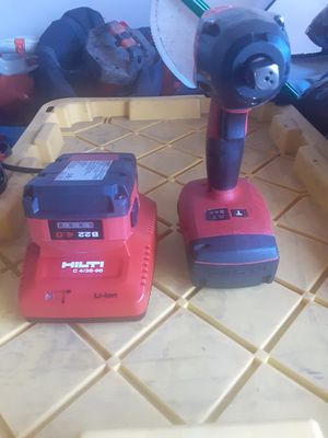 """Hilti 1/2"""" impact wrench kit for Sale in San Jose, CA"""