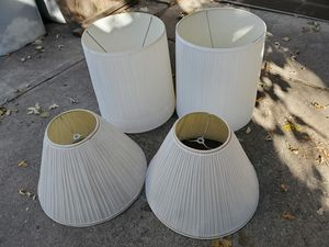 Lamp shades household home decor used good condition $5 each for Sale in Denver, CO