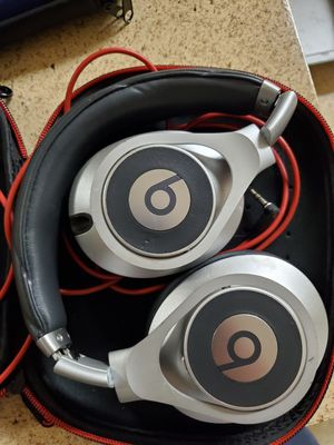 Beats by Dre executive silver studio headphones for Sale in San Diego, CA