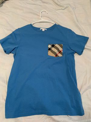 Burberry shirt 14Y for Sale in Temecula, CA