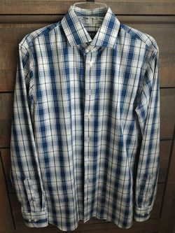 1901 Nordstrom Men's Slim Fit Non Iron Dress Casual Long Sleeve Shirt for Sale in Kent,  WA